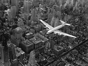 Flying over Manhattan, Fotografía de Margaret Bourke-White