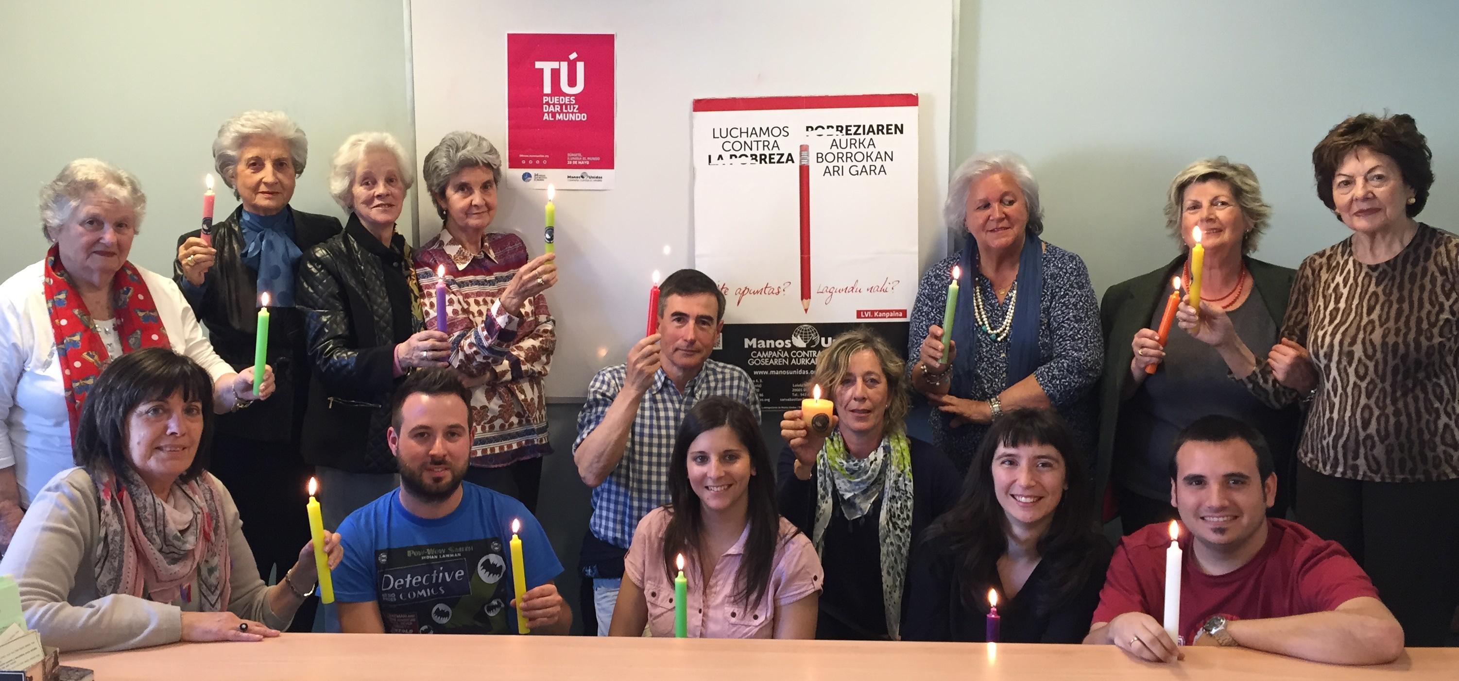 Manos Unidas Bilbao Enciende la Llama