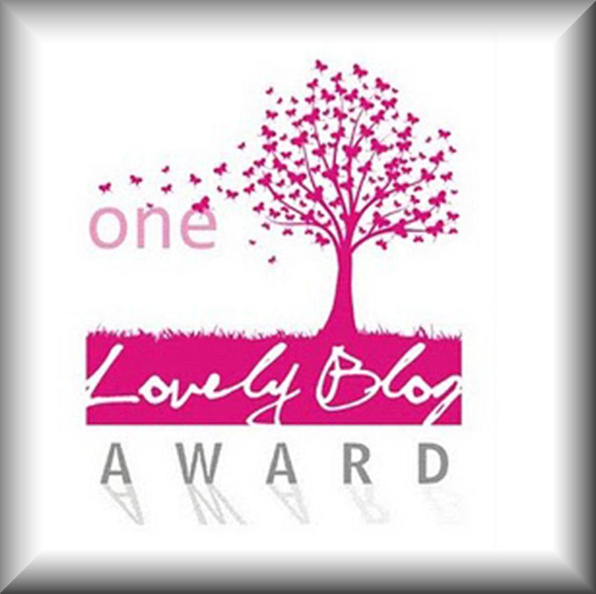 ONE LOVELY WORD AWARD